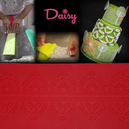 Daisy Paste mat (Siliconen) - bloem