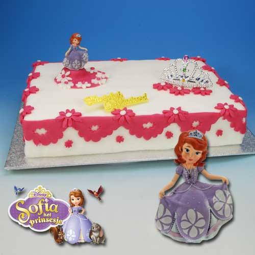 Sofia het Prinsesje - Taart Decoratie Set