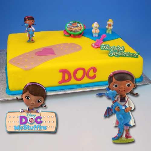Doc de Speelgoed Dokter - Taart Decoratie Set