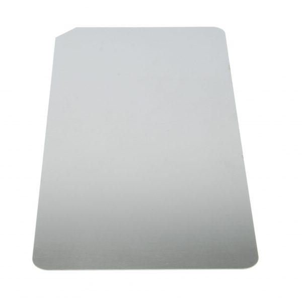 Metalen Onderplaat voor magneet bonbonvorm RVS