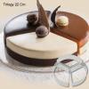 CakeIdea Inox Gebaksringen - Trilogy - Ø 22cm