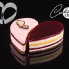 "CakeIdea Inox Gebaksringen ""Heart"" Ø14cm-0"