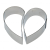 "CakeIdea Inox Gebaksringen ""Heart"" Ø14cm-8474"