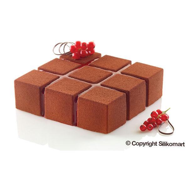 Siliconflex Siliconen Bakvorm Cubik