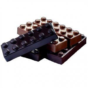 Polycarbonaat Bonbon Chocoladevorm Lego Blok Hoog