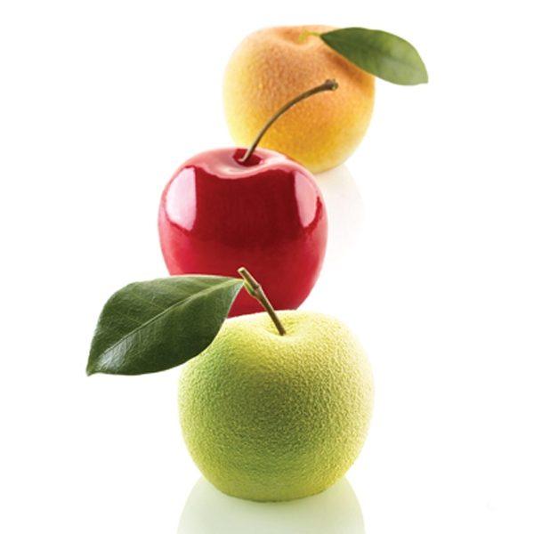 Siliconflex Siliconen Bakvorm: Appel, Kers of Perzik