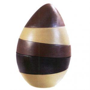 Chocoladevorm 3D Stapel-Paasei