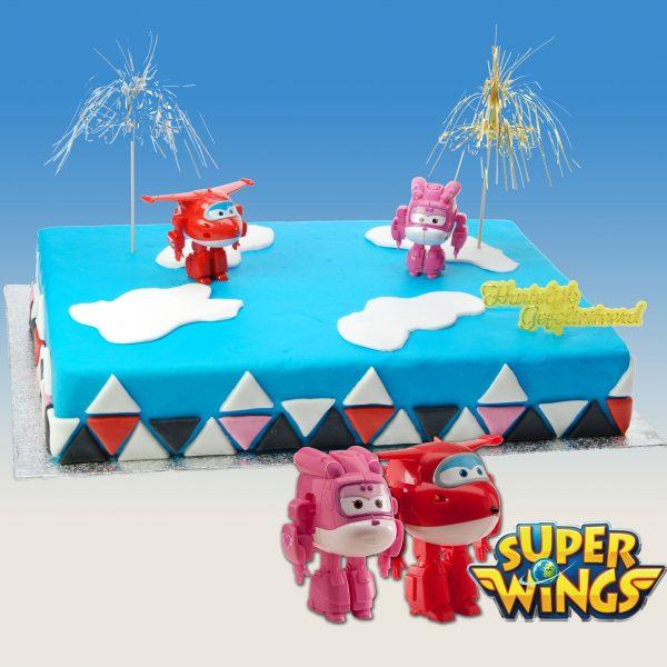Super Wings - Taart Decoratie Set