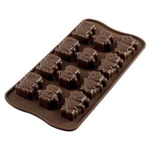 Siliconen Chocoladevorm: Robochoc
