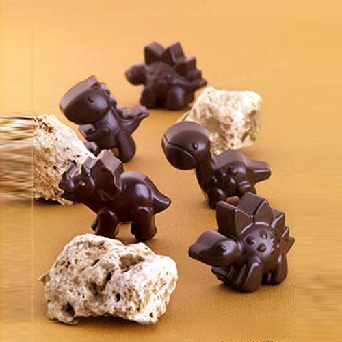 "Siliconen Chocoladevorm ""Dino"" - 01"