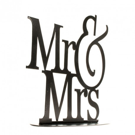Metaal Mr & Mrs Zwart