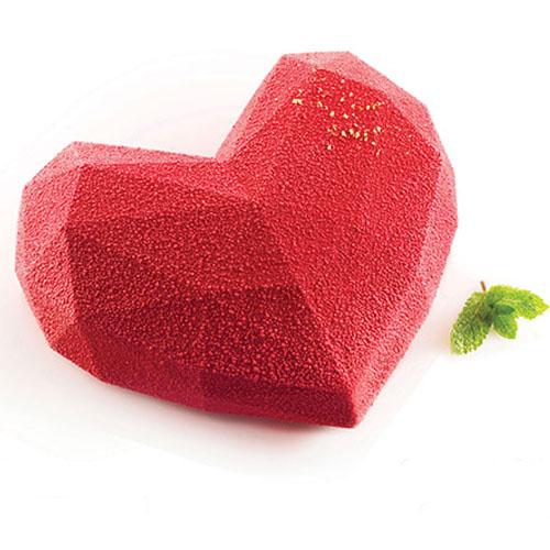 Siliconflex Siliconen Bakvorm Hart Amore Origami 600ml (Torta Flex)