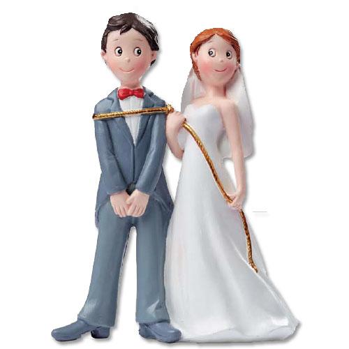 Bruidspaar Gevangen met Lasso