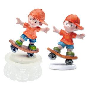 Skate Board Jongen Figuurtje - Hip