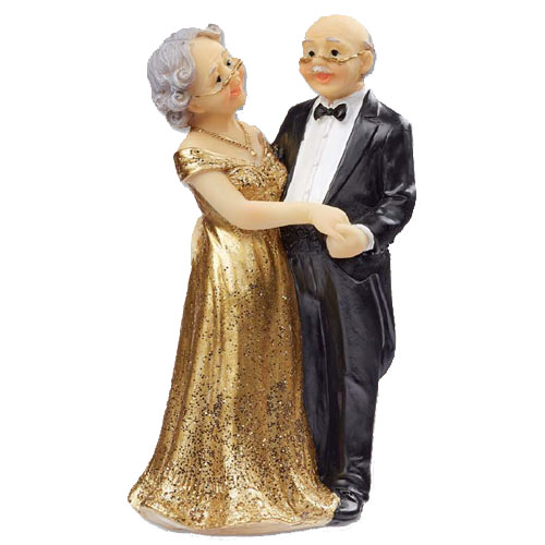 Gouden bruidspaar