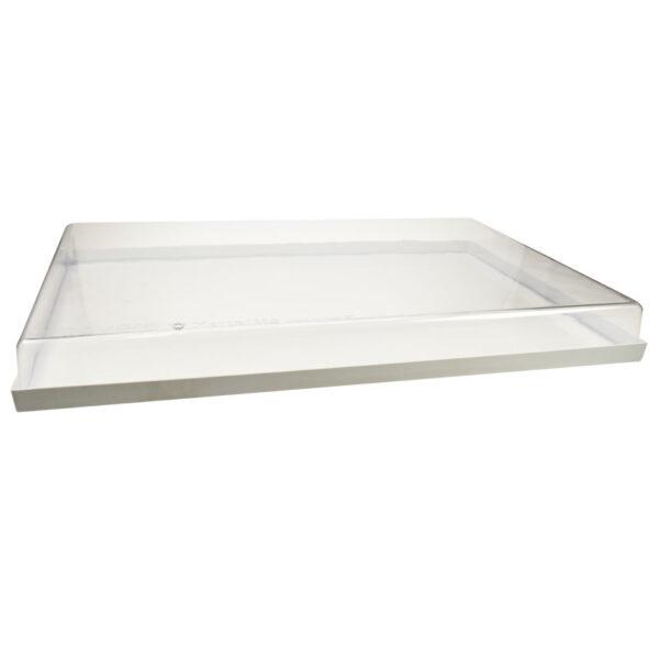 Presentatie tray met deksel - 1 tray