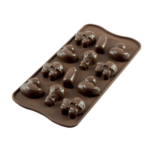 Siliconen Chocoladevorm Baby