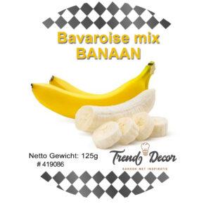 Mix voor bavaroise - Banaan