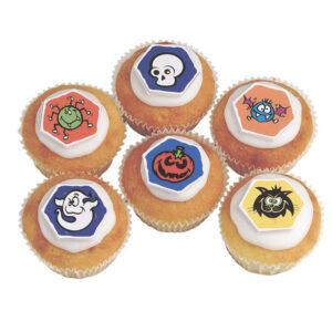 Suikerschildjes: Halloween - 90 stuks