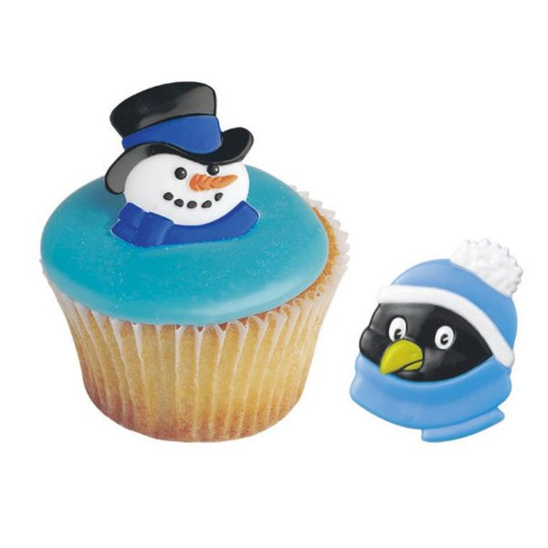 DecoRings: Sneeuwpop & Pinguin