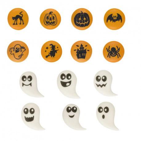 Suikerdecoratie: Halloween - 72 stuks