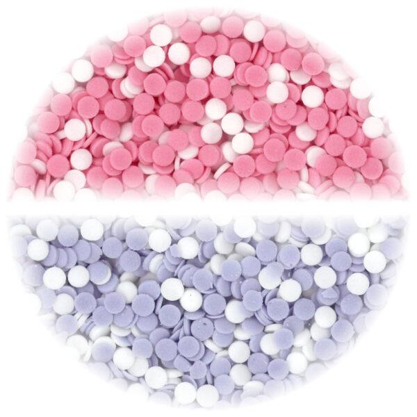 Suiker Confetti Mini Rond Geboorte