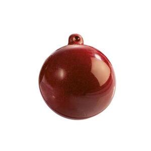 Plastic Chocolade Mal: Kerstbal