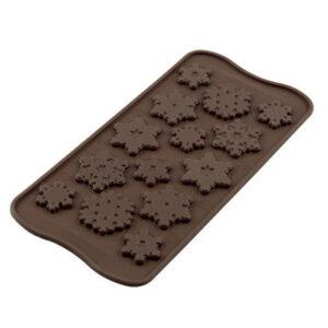 Siliconen Chocoladevorm - Choco Frozen