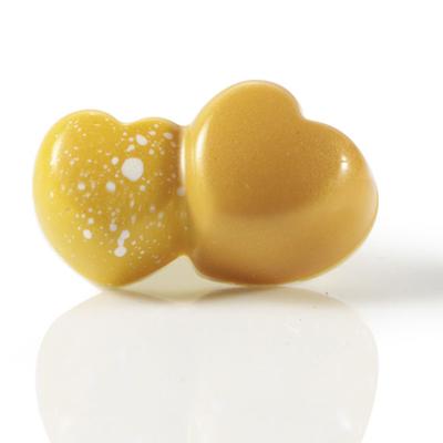 Polycarbonaat Bonbonvorm Double Hearts