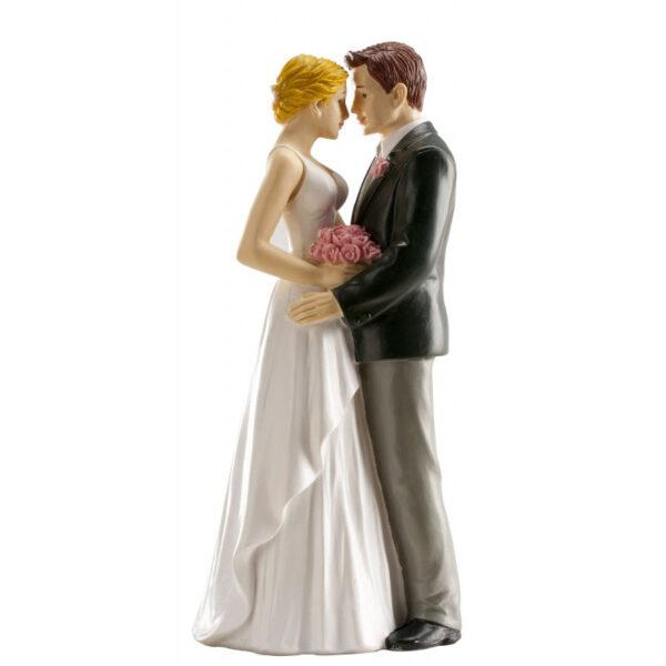 Bruidspaar Romantisch - Liefdevol vasthoudend