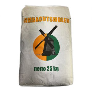 Bloem Meel Halfpatent 25kg van Ambachtsmolen