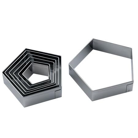 Steker set: vijfkant 7-delig