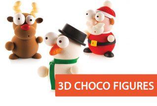 3d Choco Fugures