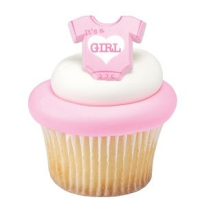 DecoRings: Baby Romper - It's a Girl