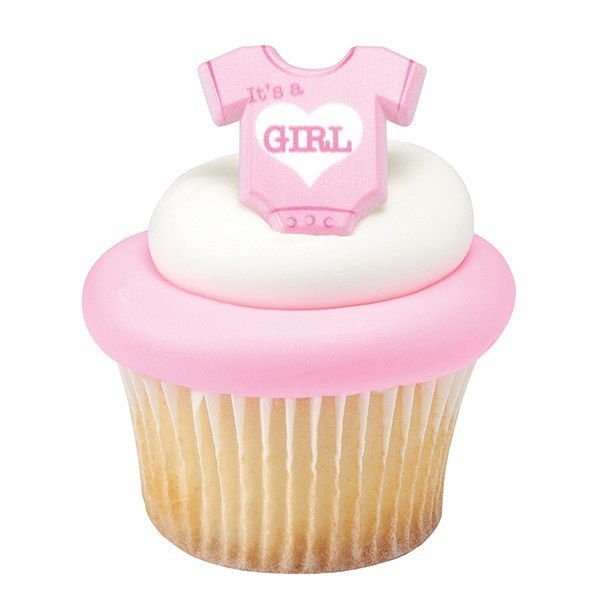 DecoRings: Baby Romper - It's a Girl