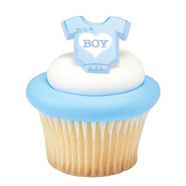 DecoRings: Baby Romper - It's a Boy