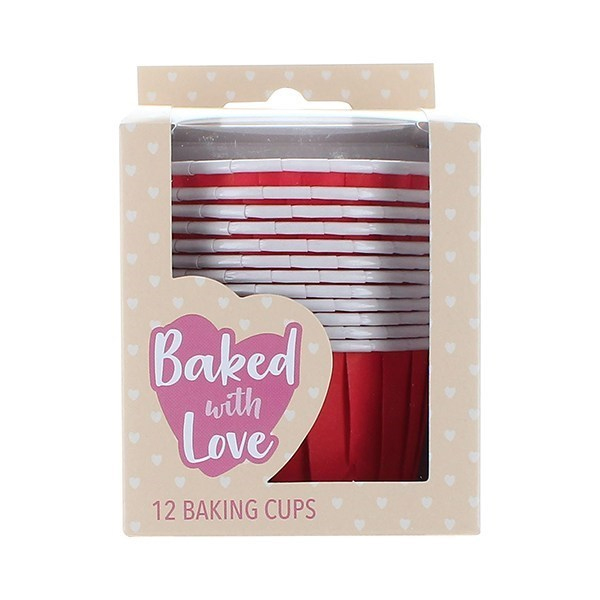 CupCake Baking Cups - Rood