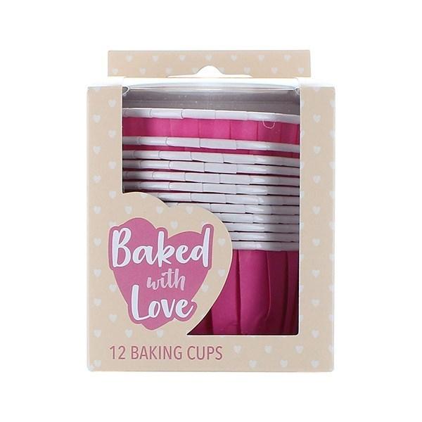 CupCake Baking Cups - Roze