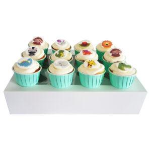 CupCake Box - Dierenvriendjes