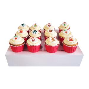 CupCake Box - Kerst