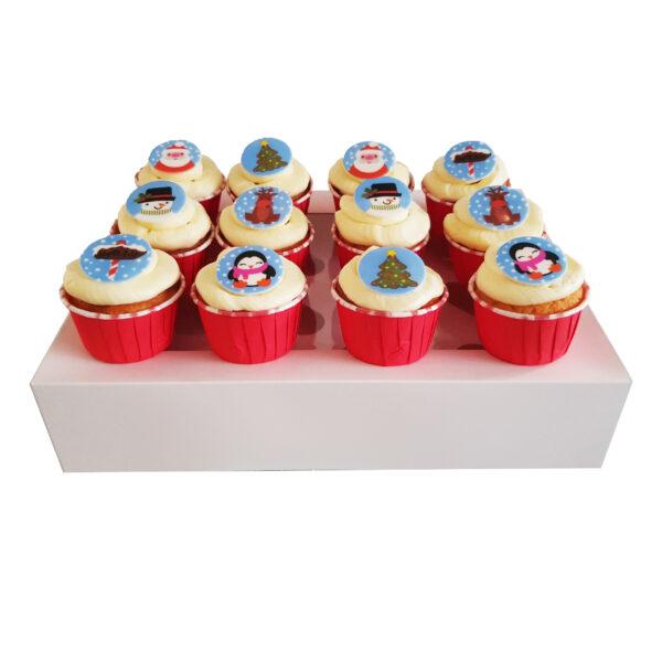 CupCake Box - Kerst Collectie