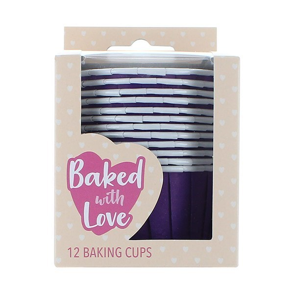 CupCake Baking Cups - Paars