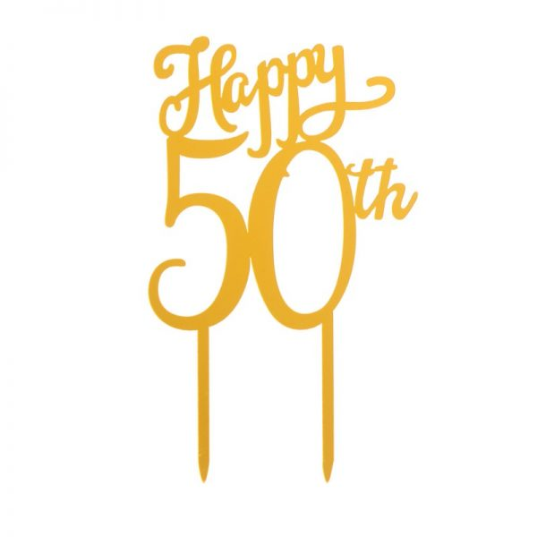Taarttopper - Happy 50th